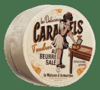 LA MAISON D'ARMORINE - Caramels au beurre salé - Karamellbonbons mit gesalzender Butter in Holzdose