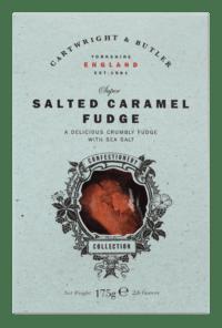 CARTWRIGHT & BUTLER - Salted Caramel Fudge - Weichkaramell mit Butter und Meersalz