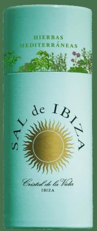 SAL DE IBIZA - Granito con hierbas - Meersalz mit mediterranen Kräutern im Streuer