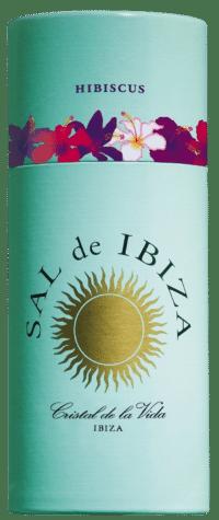 SAL DE IBIZA - Granito con hibiskus - Meersalz mit Hibiskus im Streuer