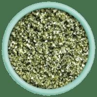 SAL DE IBIZA - Granito pimienta verde e limón - Meersalz mit grünem Pfeffer und Zitrone im Streuer