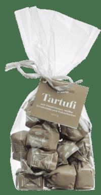 VIANI - Tartufi Dolci al cocco - Weiße Schokoladentrüffel mit Kokos und Piemont Haselnüssen