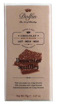 DOLFIN - Vollmilchschokolade mit Crispy Brownie
