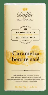 DOLFIN - Vollmilchschokolade mit Karamell und gesalzener Butter