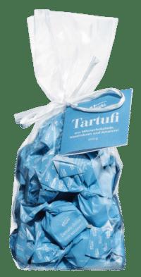 VIANI - Tartufi Dolci con amaretti - Dunkle Schokoladentrüffel mit Amaretti und Piemont Haselnüssen