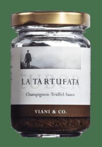 VIANI - Trüffelsauce 'Tartufata' - Trüffelsauce mit Sommertrüffeln und Champignons