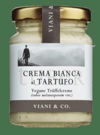 VIANI - Weiße Trüffelcreme – VEGAN - mit schwarzen Trüffel