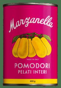 IL POMODORO PIÙ BUONO - Pomodoro giallo Marzanella - Geschälte, gelbe ganze Tomaten