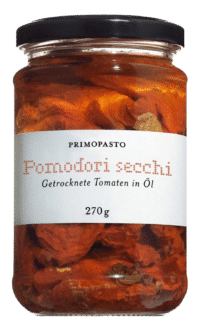 PRIMOPASTO - Primopasto – Pomodori secchi sott'olio - Getrocknete Tomaten in Sonnenblumenöl
