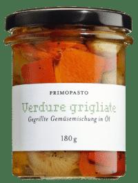 PRIMOPASTO - Primopasto – Verdure grigliate miste - Gegrilltes Gemüse in Sonnenblumenöl