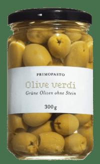 PRIMOPASTO - Grüne Oliven ohne Stein