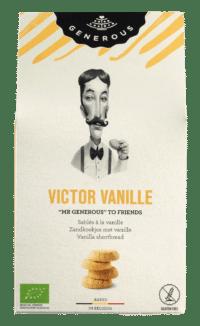 GENEROUS - Victor Vanille - 100% Bio und glutenfreies Vanillegebäck