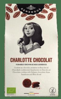 GENEROUS - Charlotte Chocolat - 100% Bio und glutenfreie Schokoladencookies