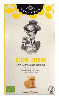GENEROUS - Céline Citron - 100% Bio und glutenfreie Zitronensablées