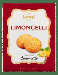 LENZI - Pasticcini al Limocello - Butterkeks mit Limoncello