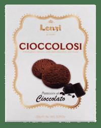 LENZI - Pasticcini al Cioccolato e Cacao - Butterkeks mit Schokolade und Kakao