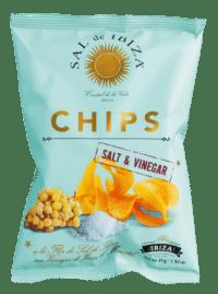SAL DE IBIZA - Chips a la Flor de Sal de Ibiza Salt & Vinegar - Kartoffelchips mit Salz und Essig