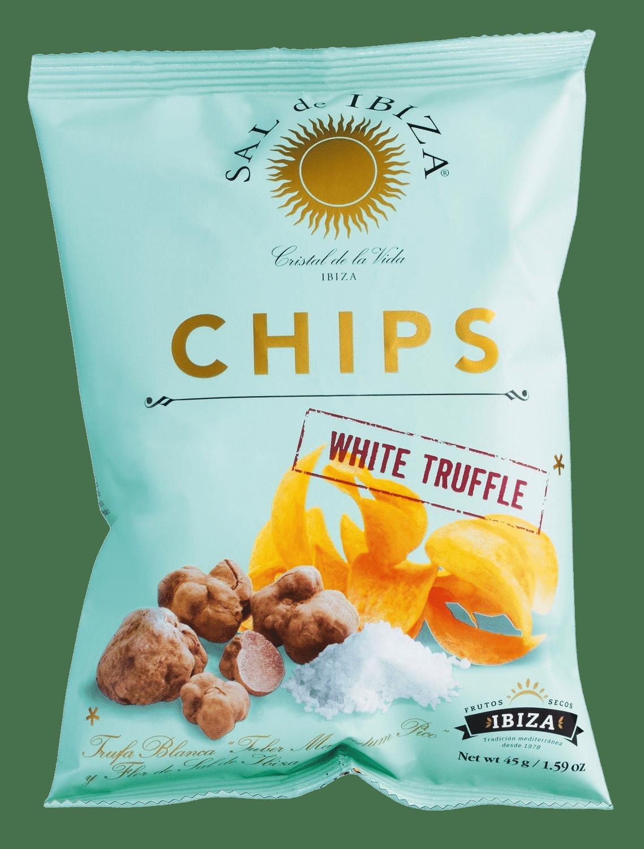 SAL DE IBIZA - Chips a la Flor de Sal de Ibiza Truffles - Kartoffelchips mit weißen Trüffeln