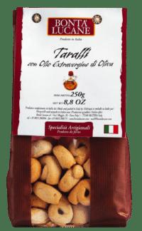 BONTÁ LUCANE - Taralli mit Olivenöl - Salzbegäck mit nativem Olivenöl extra
