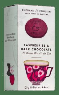ARTISAN BISCUITS - Butter Biscuits Chocolate & Rasberry - Butterkekse zum Tee mit Schokolade und Bratapfel