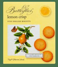 ARTISAN BISCUITS - Butterflies Lemon Crisp - Feingebäck mit Zitronen