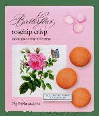 ARTISAN BISCUITS - Butterflies Rosehip Crisp - Feingebäck mit Hagebutten